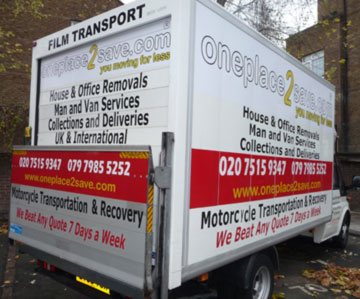 Cheap Man with Van House Removals London. Man and Luton Van available 7 days a week