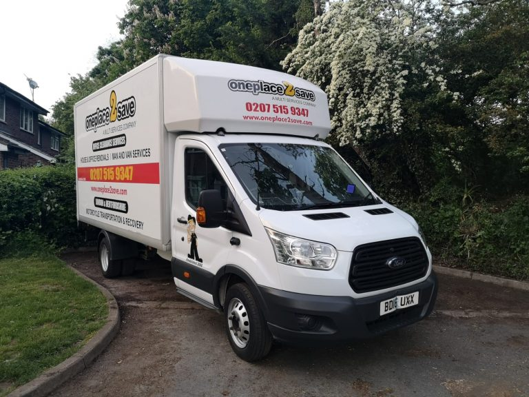 Man and Van Service in North London